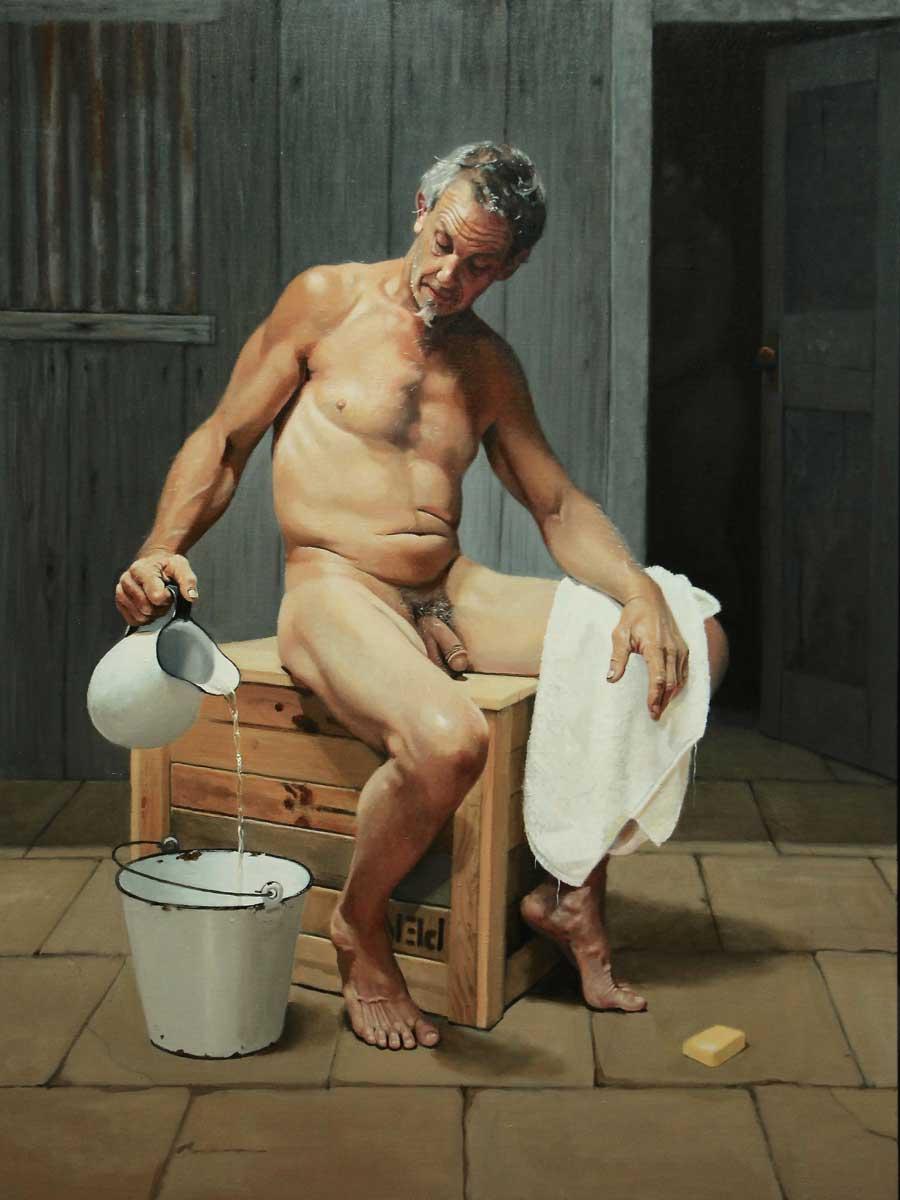 2014 Oil on canvas 120x90cm Finalist in Benalla Nude Art Prize